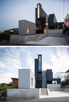 FORM/Kouichi Kimura Architects have designed the Scape House in Shiga, Japan.