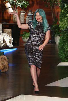 Hilary Duff on The Ellen DeGeneres Show on March 30, 2015.   - Cosmopolitan.com