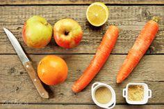 Koktajl jabłkowo-marchewkowy