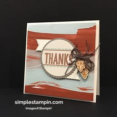 Stampin Up! Paper Pumpkin August 2016 #6,Susan Itell - simplestampin