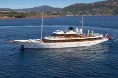 J.K. Rowling's Yacht Amphitrite (houseandgarden.co.uk)