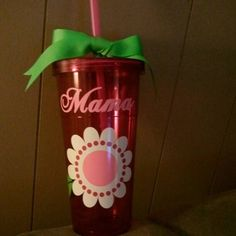 Mother's Day double wall tumbler