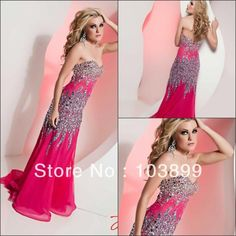 >> Click to Buy << Top Online Handmade A-line Sweetheart Floor Length Crystal Beading Free Shipping Hot Pink Long Prom Dress New Arrival #Affiliate