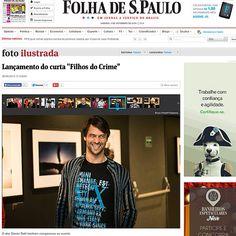 """Lançamento do curta """"Filho do Crime"""", no Espaço Itaú de Cinema - Frei Caneca -SP"""