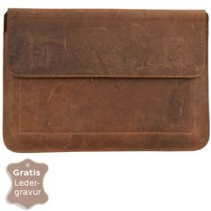 Leather Notebook Case '13' HERBERT  Personalize this gorgeous notebook case. Free engravment. € 64.50