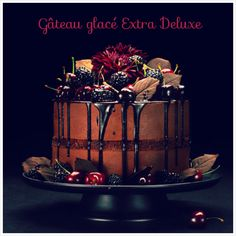 Gâteau glacé extra deluxe