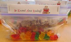 Room Mom Extraordinaire: Be Excited About Reading snack