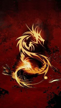 Red Dragon IPhone 5 Wallpaper 640x1136