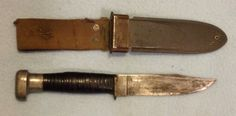 USN MKI knife Geneva Forge Inc with USN MKI scabbard