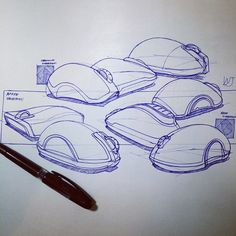 Sketch by Hong Wonjin Illustration Sketches, Graphic Illustration, Mouse Sketch, Object Drawing, Industrial Design Sketch, Interior Sketch, Clever Design, Sketch Design, Design Process