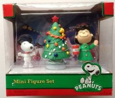 You can't resist Peanuts figurines during the holidays.