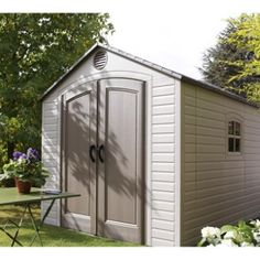 Abri de jardin en bois luoto m2 p panneaux 28mm leroy merlin abris de jardin - Abri de jardin en bois naterial tepsa ...