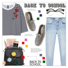 """Back to School 2017-2018"" by selena-gomezlover ❤ liked on Polyvore featuring Hollister Co., AERIN, Fendi, MANGO, BackToSchool, polyvoreeditorial, 2017 and 2018"