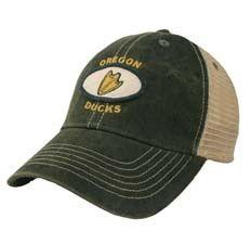Oregon Ducks Legacy Old Favorite Adjustable Mesh Hat
