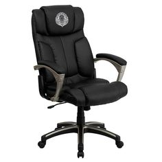 Start your work day off right by sitting in the Flash Furniture High Back Folding Black Leather Executive Swivel Office Chair . This elegant office chair. High Back Office Chair, Black Office Chair, Best Office Chair, Executive Office Chairs, Swivel Office Chair, Ergonomic Office Chair, Office Desk, Red Office, Small Office