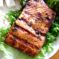 Firecracker Grilled Alaska Salmon Recipe - Allrecipes.com - over 700 great reviews.  This is one of our two all-time favorite salmon recipes.