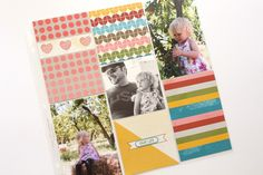 Project Life Stampin' Up! Blog Hop – Happy Times