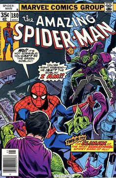 Amazing Spider Man 180 1978 VG F Marvel Comics New Collection Comics Spiderman, Marvel Comics Superheroes, Marvel Comic Books, Comic Books Art, Hulk Comic, Book Art, Amazing Spiderman, Amazing Spider Man Comic, Spiderman Classic