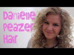 Danielle Peazer Inspired Hair Tutorial   ShinyLipsTv - YouTube