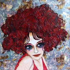 Zerrin Tekindor kadınları.. Bayılıyorum.. Artist Life, Helena Bonham Carter, Female Art, Female Portrait, Hair Painting, Artist Painting, Cartoon Art, Kinder Art, Original Paintings