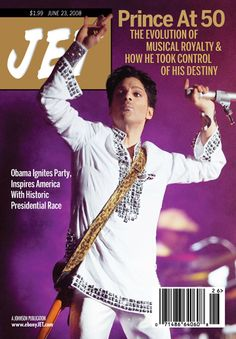 Prince on the Cover of Jet Magazine