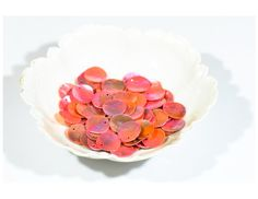 Mother of pearl MOP beads pink shell flat by FriendlyWrenJewelry  SALE:  COUPON CODE COLUMBUS15 FOR 15% OFF