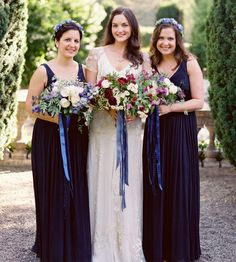 Wedding Magazine - A midsummer inspired wedding, with shades of blue, elegant details and meaningful flowers