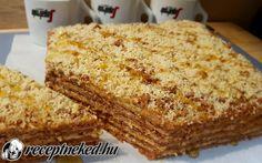 Mézes marlenka recept fotóval Banana Bread, Food Porn, Homemade, Snacks, Cookies, Cake, Recipes, Crack Crackers, Appetizers