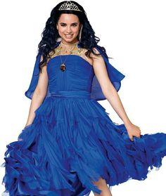 Disney Channel Descendants, Disney Descendants 3, Descendants Cast, Mal And Evie, Booboo Stewart, Decendants, Blue Dresses, Formal Dresses, Sofia Carson