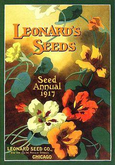 Leonard's Seeds - Seed Annual 1917