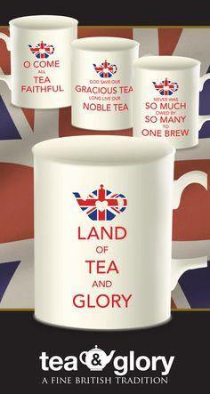 Tea & Glory Fine Bone China Mug Set