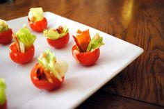 BLT Tomato Bites (Gluten Free)