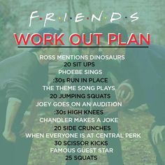 Friends workout plab