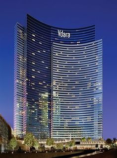 VDARA! Beautiful - opened December 1, 2009. Vdara is a 1,600,000 sq ft condo/hotel and spa located within the CityCenter complex. Vdara's 57-story, 578-foot tower houses 1,495 suites; an 18,000 sq ft, two-story spa, salon and fitness center; a market and a bar. It also has a 40,000 sq ft pool and deck area. Vdara does not contain casino space.