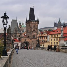 Charles Bridge in Prague, Czech Republic. A memorable birthday in 2011❤️