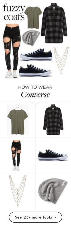 """fuzzy wuzzy was a bear."" by punkwear101 on Polyvore featuring Étoile Isabel Marant, Madewell, Converse and Ettika"