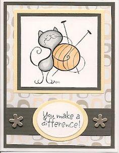 Knit Kitty (although I crochet LOL)