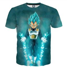 79367be86af Dragon Ball DBZ Bulma Super Saiyan Vegeta T-shirt Men Women Anime Kid Goku  Goten Gohan T shirt Harajuku Lonzo Ball Tee Shirts