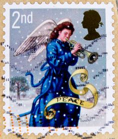 stamp xmas UK christmas UK GB 2nd Class Great Britain England angel trumpet noel United Kingdom UK timbre navidad Grande-Bretagne postage porto natal francobolli Gran Bretagna bollo sellos selo Gran Bretaña franco noel timbres 邮票 大不列颠 yóupiào Dà Bùlièdiā | Flickr - Photo Sharing!