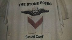 Vintage 90s Very Rare The Stone Roses Second Coming Tshirt