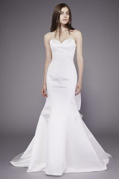 Luxe Bridal Gowns   Badgley Mischka's 1950's Buenos Aires wedding dress collection