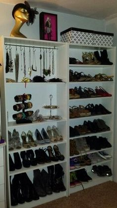 billy bookcase for shoes - Google Search