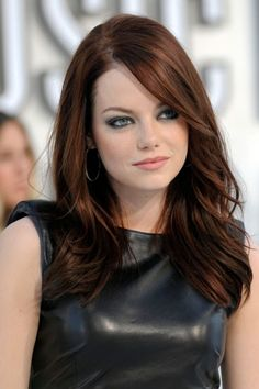 Emma Stone Hair Style File   Hairstyles And Colour (vogue.co.uk) in Emma Stone Auburn Hair