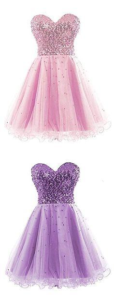 Pink Homecoming Dresses, Cheap Homecoming Dresses,Lilac Homecoming Dresses cheap,short Homecoming Dresses,Plus Size Homecoming Dresses,simple Homecoming Dresses,Cute Homecoming Dresses,#graduationparty #homecomingdresses