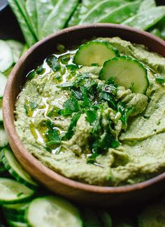Green Goddess Hummus: 19 Recipes to Make the Most of Fresh Herbs via Brit + Co
