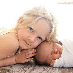 Sibling pic.. So cute