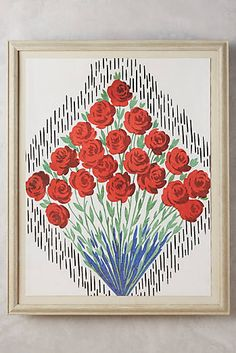 LOVE LOVE LOVE $3000 French Bouquet Wall Art from Anthropologie