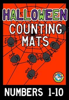 ONLY $1 FOR A LIMITED TIME!   This hands-on fun pack, containing 10 sorting mats, is an ideal resource for your Math Center. Children have to count and place a correct number of spiders onto each sorting mat (containing a web).   All you have to do is print, laminate and cut out! Children will surely love this Halloween themed activity!