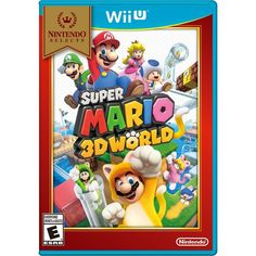 Nintendo Selects: Super Mario 3D World - Nintendo Wii U, Multi #nintendowii