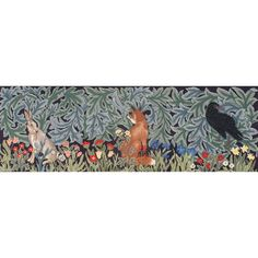 Hare, Fox and Raven - Ehrman Tapestry